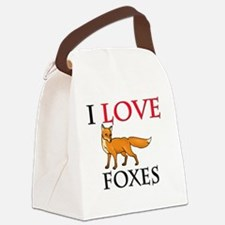 FOXES106271 Canvas Lunch Bag
