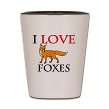 FOXES106271 Shot Glass