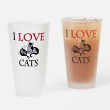 CATS92342 Drinking Glass