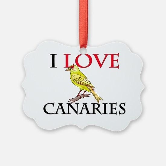 CANARIES50349 Ornament
