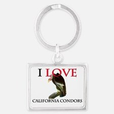 CALIFORNIA-CONDORS120355 Landscape Keychain