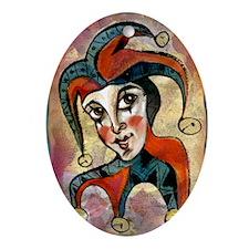 Jester Oval Ornament