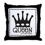 Queen of Everthing Throw Pillow