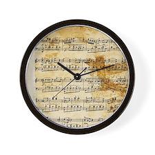Vintage Music Wall Clock