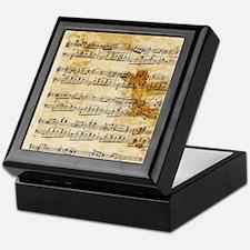 Vintage Music Keepsake Box