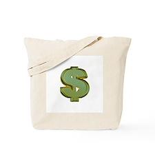 Dollar Signs Tote Bag