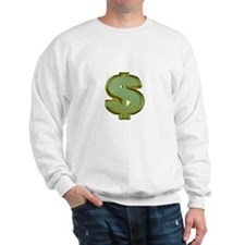 Dollar Signs Sweater