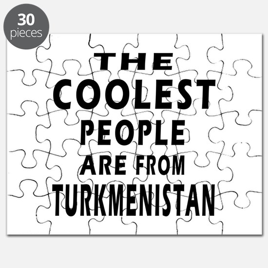 The Coolest Turkmenistan Design Puzzle