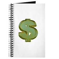 Dollar Signs Journal