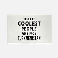 The Coolest Turkmenistan Design Rectangle Magnet