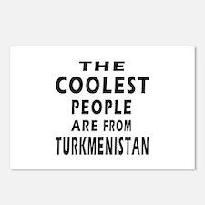 The Coolest Turkmenistan Design Postcards (Package
