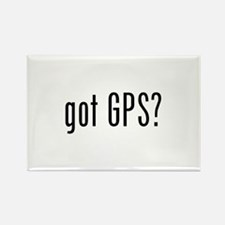 got GPS? Rectangle Magnet (10 pack)