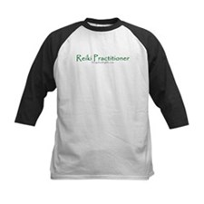Reiki Practitioner, green Tee
