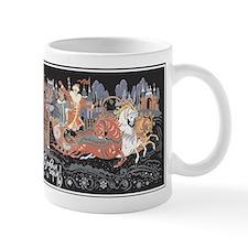 Russian Troika Ceramic Coffee Mug