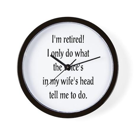 Retirement Ramblings Wall Clock
