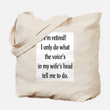 Retirement Ramblings Tote Bag