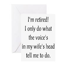 Retirement Ramblings Greeting Cards (Pk of 10)