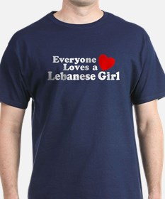 Everyone Loves a Lebanese Gir T-Shirt