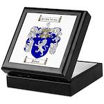 Jones Coat of Arms / Family Crest Keepsake Box