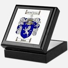 Jones Coat of Arms / Family Crest Keepsake Box
