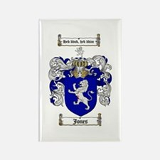 Jones Coat of Arms / Family Crest Rectangle Magnet