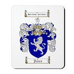 Jones Coat of Arms / Family Crest Mousepad