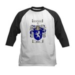 Jones Coat of Arms / Family Crest Kids Baseball Je