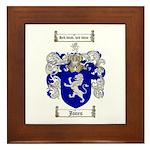 Jones Coat of Arms / Family Crest Framed Tile