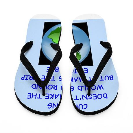 CURLING Flip Flops