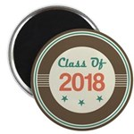 Class of 2018 Vintage Magnet
