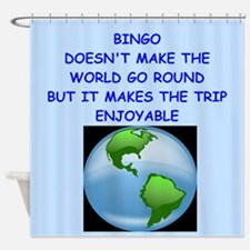 bingo Shower Curtain