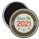 Class of 2021 Vintage Magnet