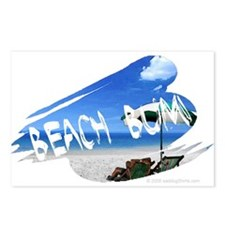 Beach Bum Postcards (Package of 8)