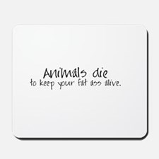 Animals die Mousepad