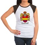 Zimmerman Coat of Arms Crest Women's Cap Sleeve T-