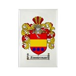 Zimmerman Coat of Arms Crest Rectangle Magnet (100
