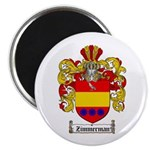 Zimmerman Coat of Arms Crest Magnet