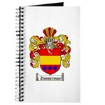 Zimmerman Coat of Arms Crest Journal