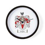 Ziegler Coat of Arms Crest Wall Clock