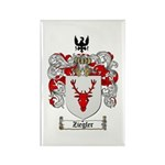 Ziegler Coat of Arms Crest Rectangle Magnet (10 pa
