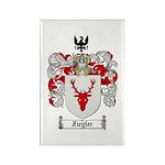 Ziegler Coat of Arms Crest Rectangle Magnet (100 p