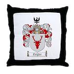 Ziegler Coat of Arms Crest Throw Pillow