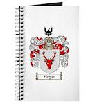 Ziegler Coat of Arms Crest Journal