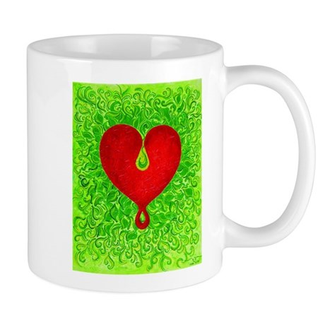 Love is Birthing Anew Small Mugs