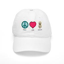 Peace Love & Doodles Baseball Cap