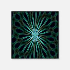 "Psychedelic 8 Square Sticker 3"" x 3"""