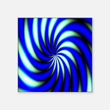 "Psychedelic 12 Square Sticker 3"" x 3"""
