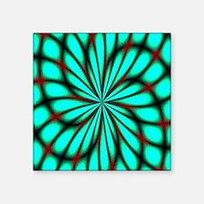 "Psychedelic 14 Square Sticker 3"" x 3"""