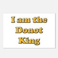 Donot King Postcards (Package of 8)