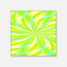 "Psychedelic 15 Square Sticker 3"" x 3"""